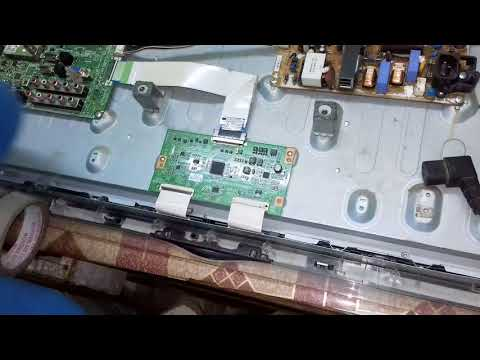 Samsung LA32C530 pannel double image track cutting