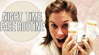 MY NIGHTLY FACE ROUTINE!! | Shawn Johnson