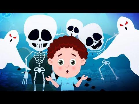 Halloween is Back | Schoolies Cartoons | Scary Nursery Rhymes for Babies