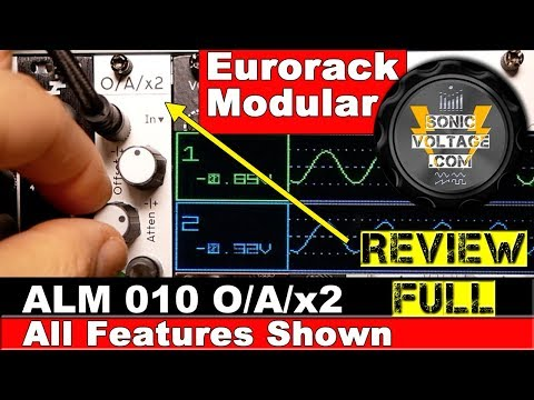 ALM 010 Busy Circuits OAx2 Review Eurorack Modular. All features Shown