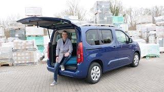 Wir drehen eine Runde: Opel Combo - große Klappe