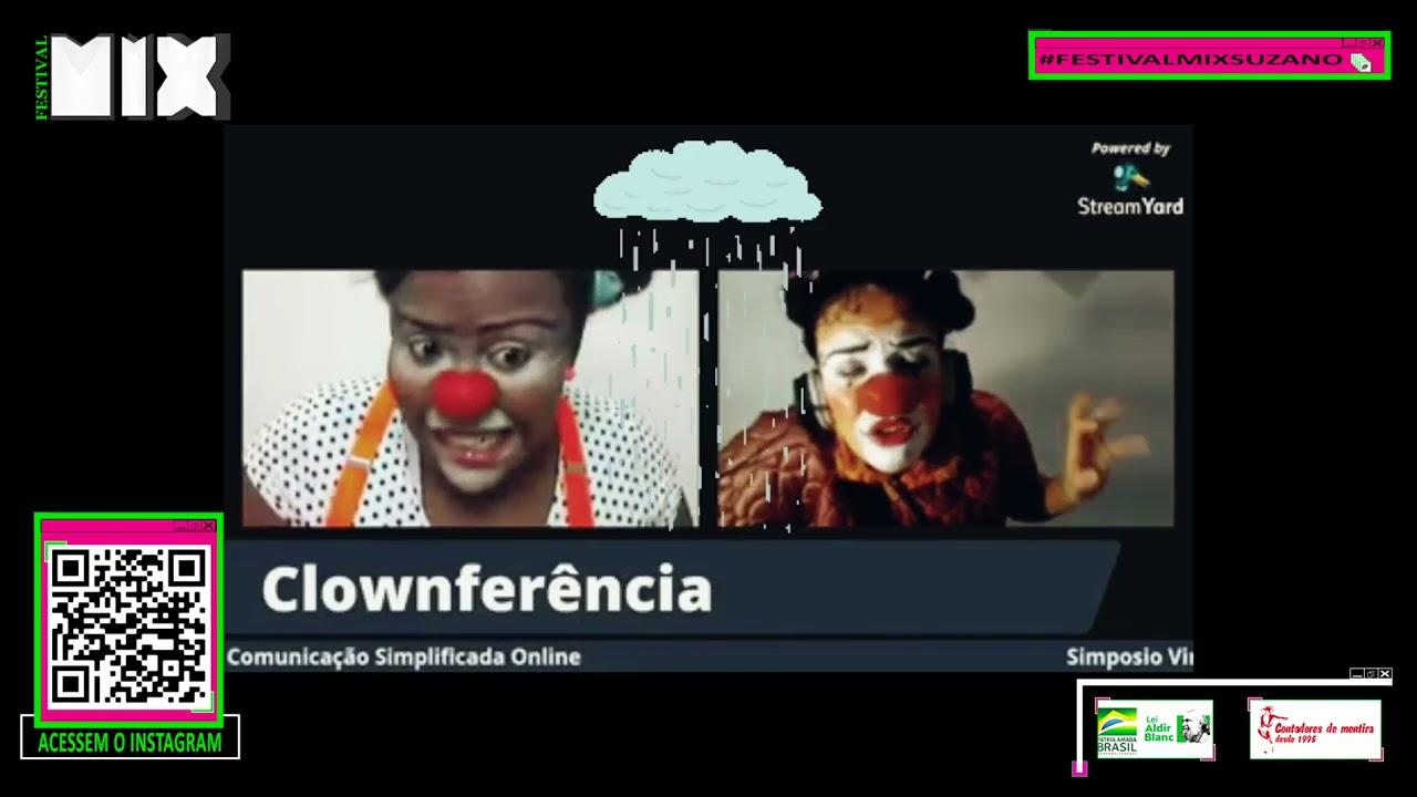 """""""Clownectadas"""" – Ligia Berber e Conceni Paulina"""