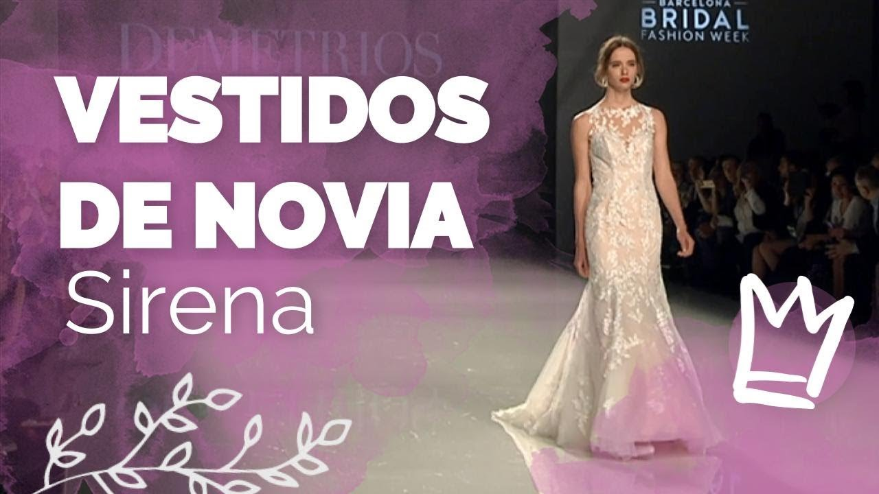 Vestido de novia - Sirena 2018 - YouTube