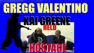 KAI GREENE HELD HOSTAGE,,,, WATCH TO THE END.