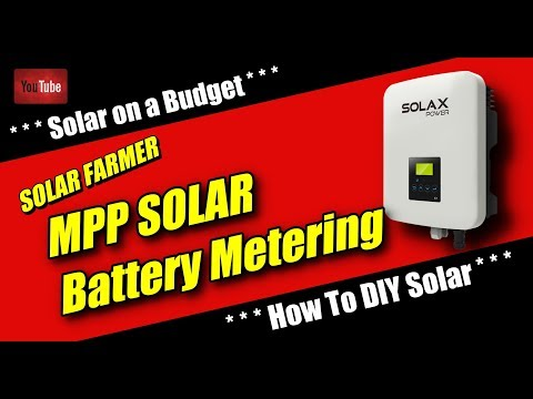MPP Solar Battery Voltage Metering