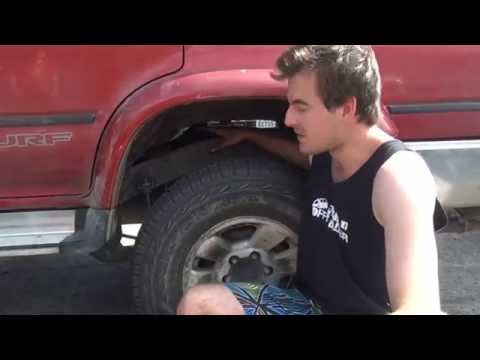 "Hilux Surf 2"" Body Lift Install"