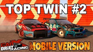 TOP Best Twin Drift #2 Tandem Atlas Prime VS Loki Storm | Парный дрифт | CarX Drift Racing MOBILE
