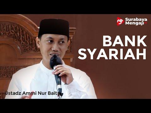Terkait Bank Syariah - Ustadz Ammi Nur Baits