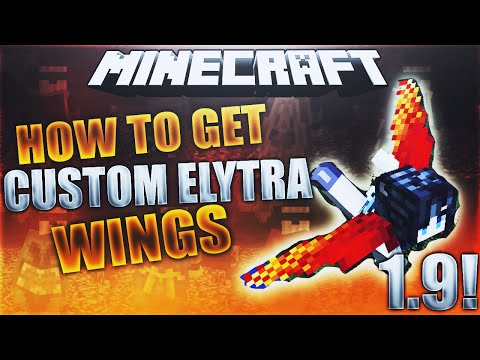 HOW TO GET CUSTOM ELYTRA WINGS IN MINECRAFT 1.10.2! (MAC+WIN) 2016 METHOD!