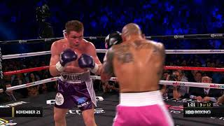 Classic Fights: Canelo Alvarez vs. Miguel Cotto (2015)