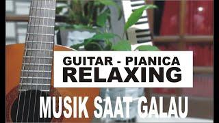 Musik Saat Galau | Relaxing Guitar & Pianica, Free BGM No Copyright