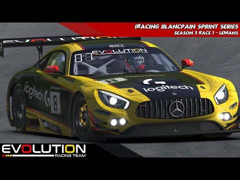 iRacing - Blancpain Sprint Series - Week 1 LeMans