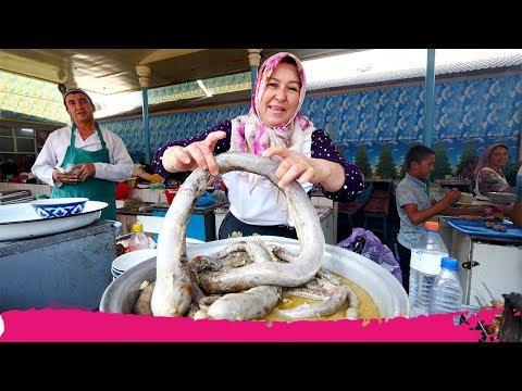 Uzbekistan STREET FOOD Tour of Chorsu Bazaar - Hasib, Honim & Norin   Tashkent, Uzbekistan