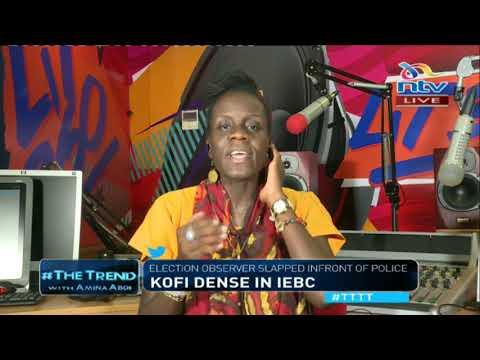 Kofi dense: Election observer slapped infront of police #TTTT