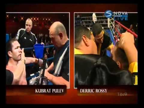 Kubrat Pulev  VS Derrick Rossy part1