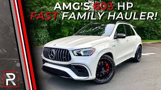 The 2021 Mercedes-AMG GLE 63 S is the OG Crazy Fast SUV, Reborn