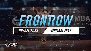 Nimbel Funk | FrontRow | World of Dance Mumbai Qualifier 2017 | #WODMUM17