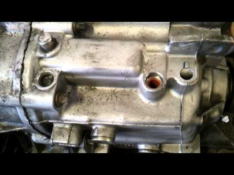 BMW manual gearbox shift pin repair