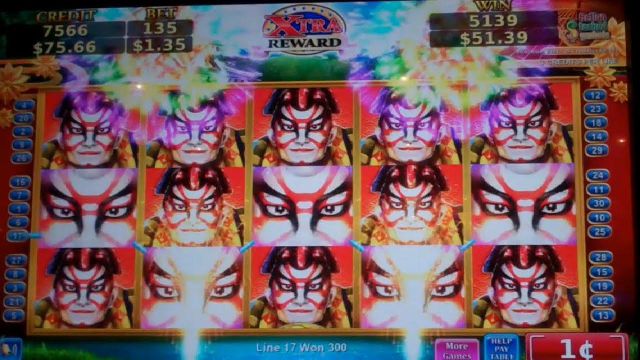 Rising Sun Slot Machine