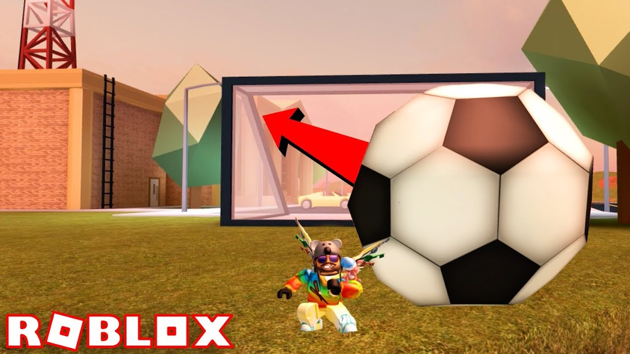 Roblox Jailbreak Making Soccer Goals With Subscribers Youtube