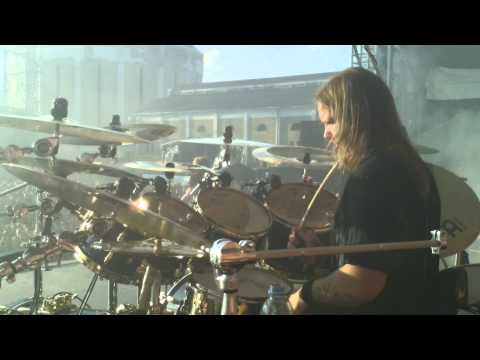 Pearl Artist Fredrik Andersson/Amon Amarth Drum Cam Tuska 2011 - Guardians Of Asgaard