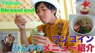 【暑い夏にオススメ!】東京ディズニーランドで食べれるひんやりメニュー紹介