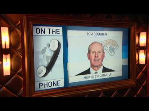 Jaguars Exec Tom Coughlin Explains Why Jacksonville Re-Upped Blake Bortles - 6/6/17