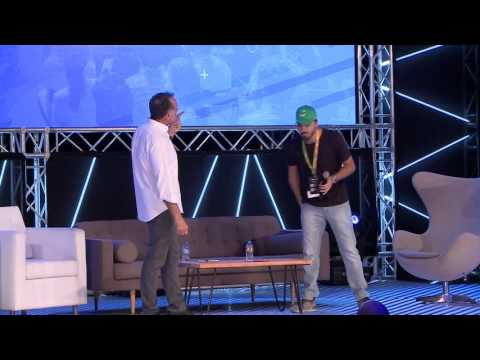 Getting the environment right: Fadi Ghandour interviewing Careem during #STEP2017