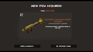 TF2: How to Craft an Australium Rocket Launcher