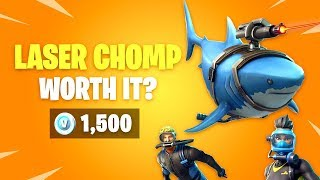 Is Laser Chomp Worth it? & Divemaster Skins - Fortnite Battle Royale Daily Items Update