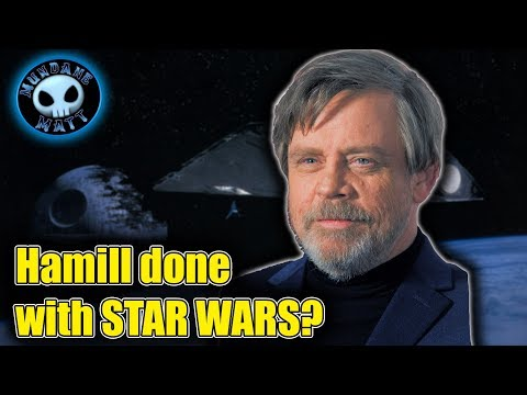 Mark Hamill says he's 'over' returning to STAR WARS