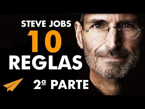 Mantente Hambriento, Mantente Alocado | Steve Jobs en Español: 10 Reglas para el éxito PARTE 2