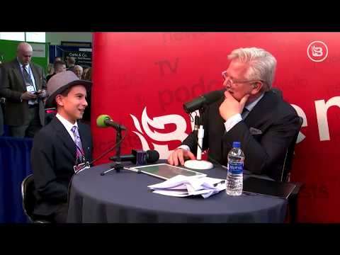 Glenn interviewed by 11-year-old Pheonix Legg at CPAC
