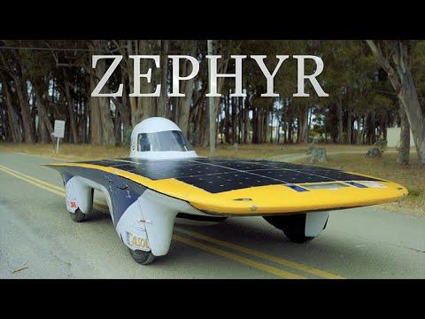Berkeley's Solar Car Zephyr Could Drive Until the Sun Dies