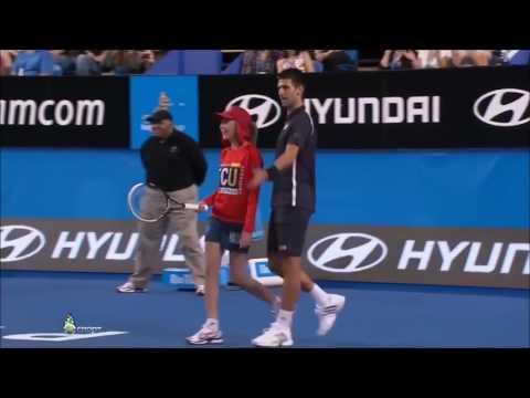 Funny Tennis Ball Boy & Girl Compilation