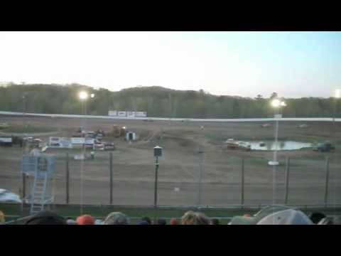 Mark Gerth's Win at Eagle Valley Speedway May 2, 2010
