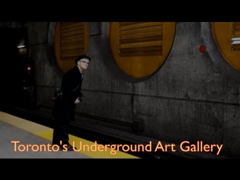 Art on the TTC Subway