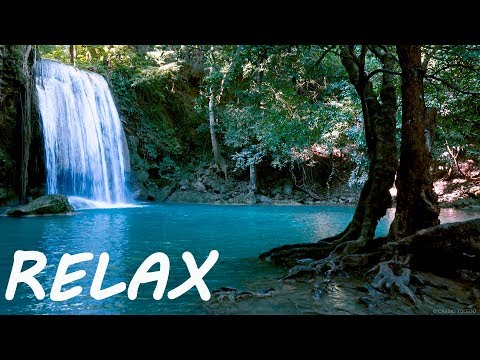 Peaceful Relaxing Music and Calming Nature Water Sounds - Sleep