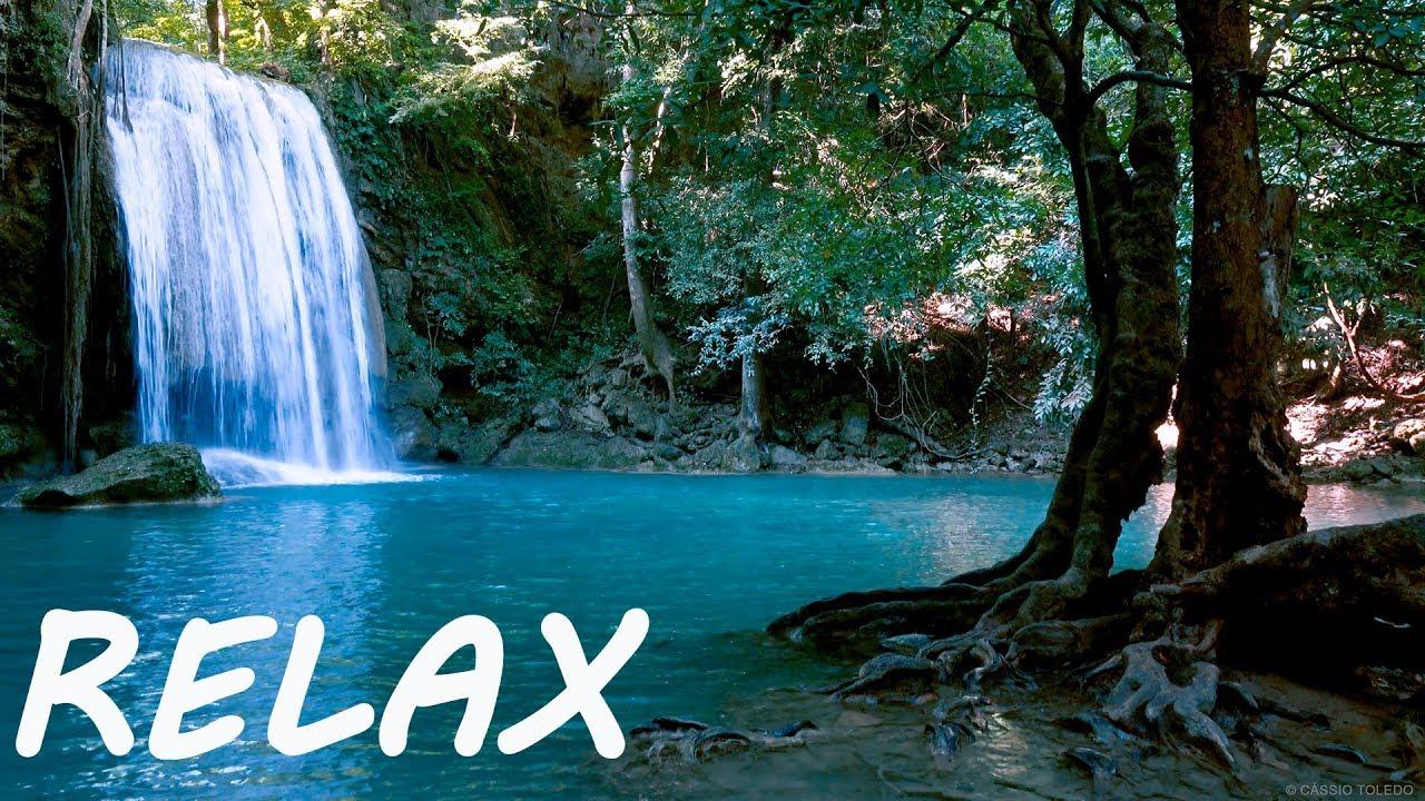 Peaceful Relaxing Music And Calming Nature Water Sounds Sleep Youtube Katarraktes
