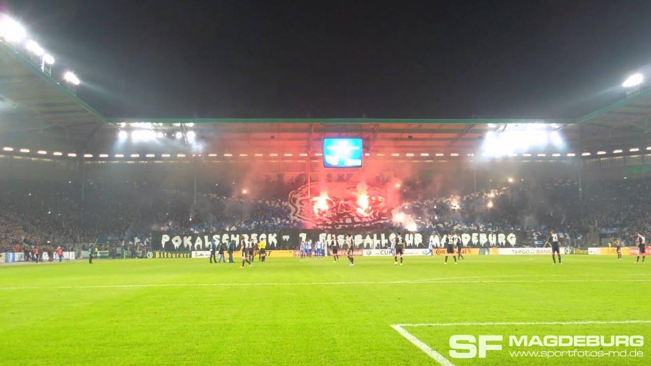 Choregrafie Dfb Pokal 2 Runde 1 Fc Magdeburg Bayer 04