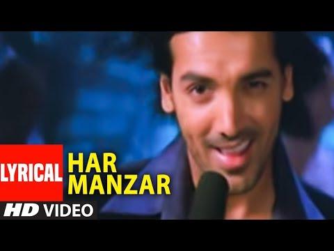 Har Manzar Lyrical Video Song Baabul   Amitabh Bachchan, John Abraham, Rani Mukerji