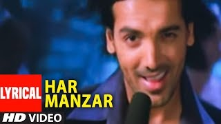 Har Manzar Lyrical Video Song Baabul | Amitabh Bachchan, John Abraham, Rani Mukerji
