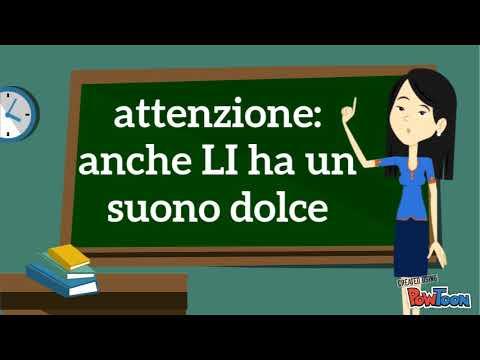 Maestra Catia E Le Parole Con Gli E Li Youtube