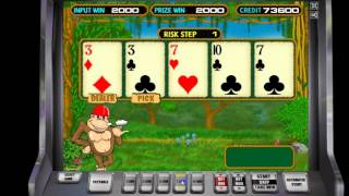 видео игровые автоматы обезьянки онлайн