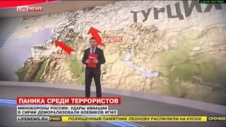 Удары авиации России в Сирии деморализовали боевиков ИГ  Новости Сирии, США, России