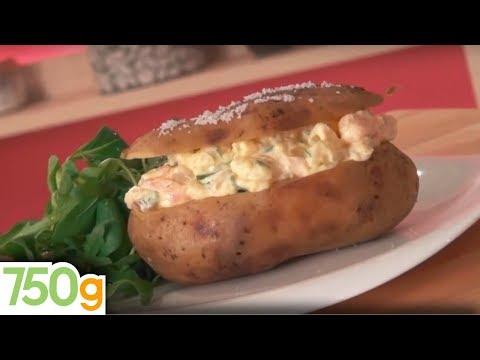recette-de-pommes-de-terre-au-four-au-saumon-fumé---750g
