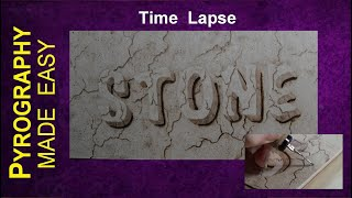 pyrography-fine-artk-3d-sandstone-texture-pyrography-letters
