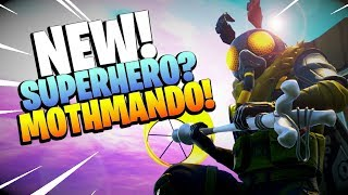 *NEW* MOTHMANDO SKIN | Fortnite Battle Royale Item Shop