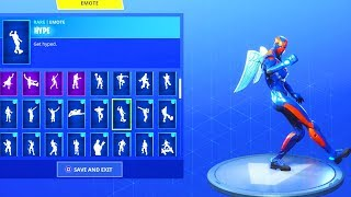 NEW! CRITERION skin with 20+ DANCE EMOTES (Showcase) Fortnite Battle Royale