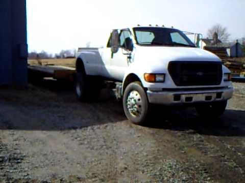 Ford F650 For Sale >> Ford f650 pickup - YouTube